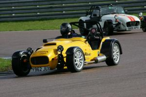 Engineering at work - the Westfield on track at Rockingham